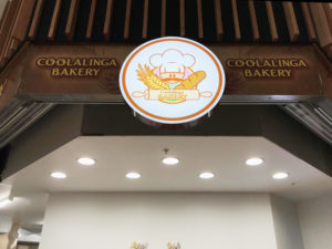 COOLALINGA BAKERY ILLUMINATED