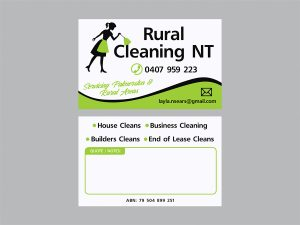RURAL CLEANING_BUSINESS CARDS